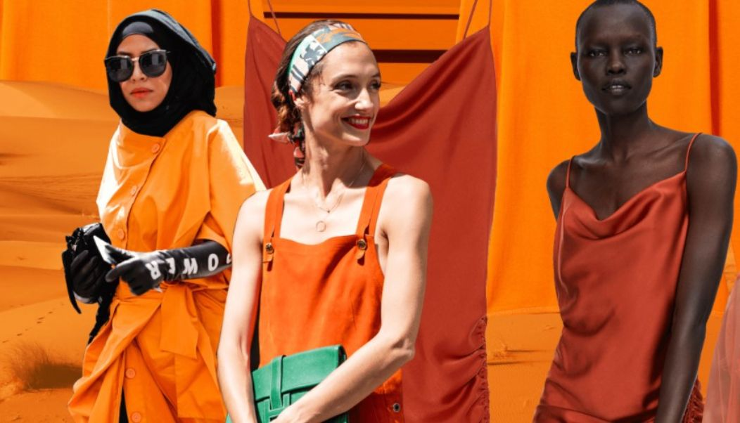 The summer color 2021 How to combine orange well